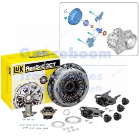 Getrag DCT250 Dry clutch 6-speed DSG Ford, Renault