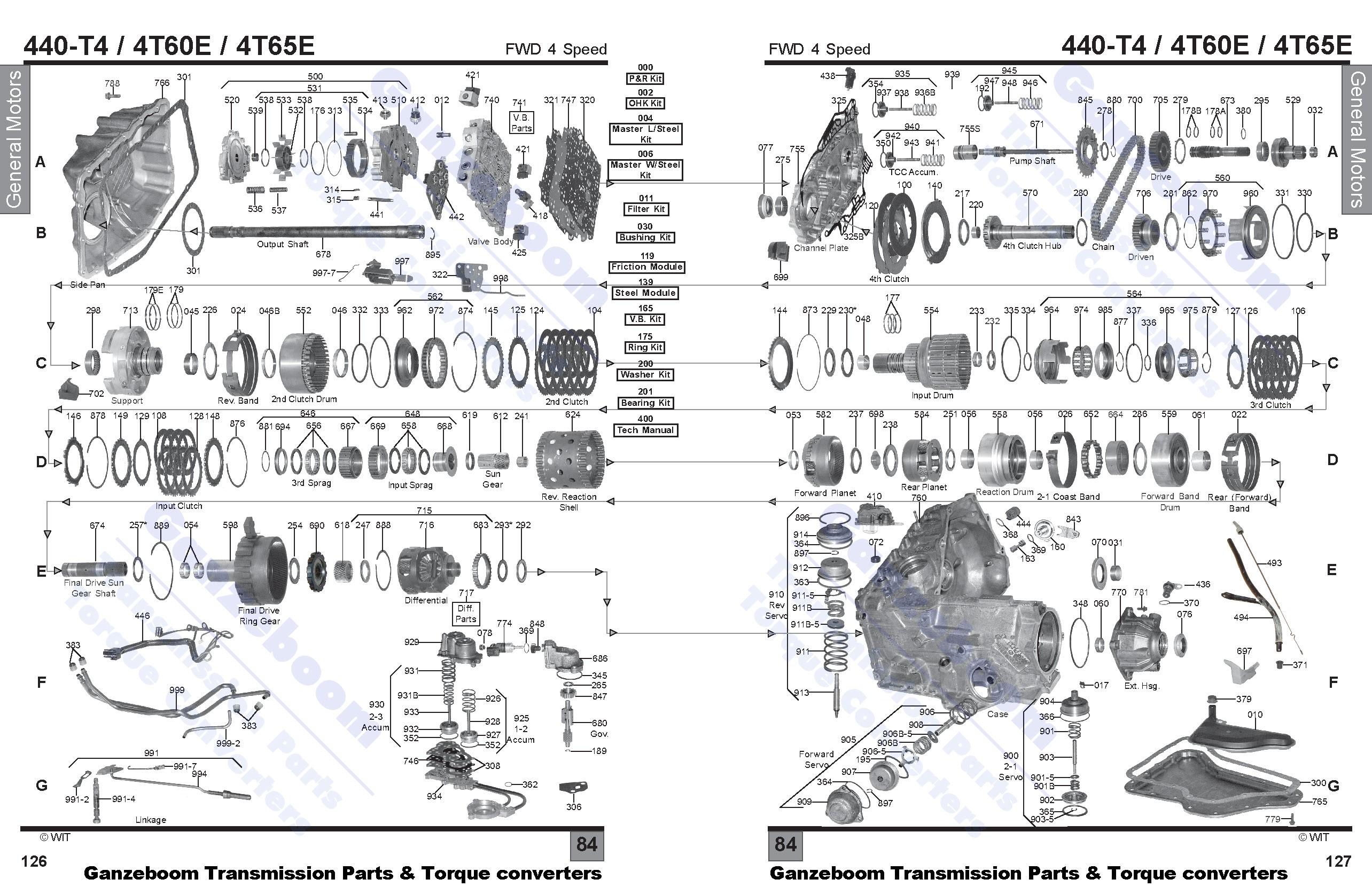 4t60e valve body diagram