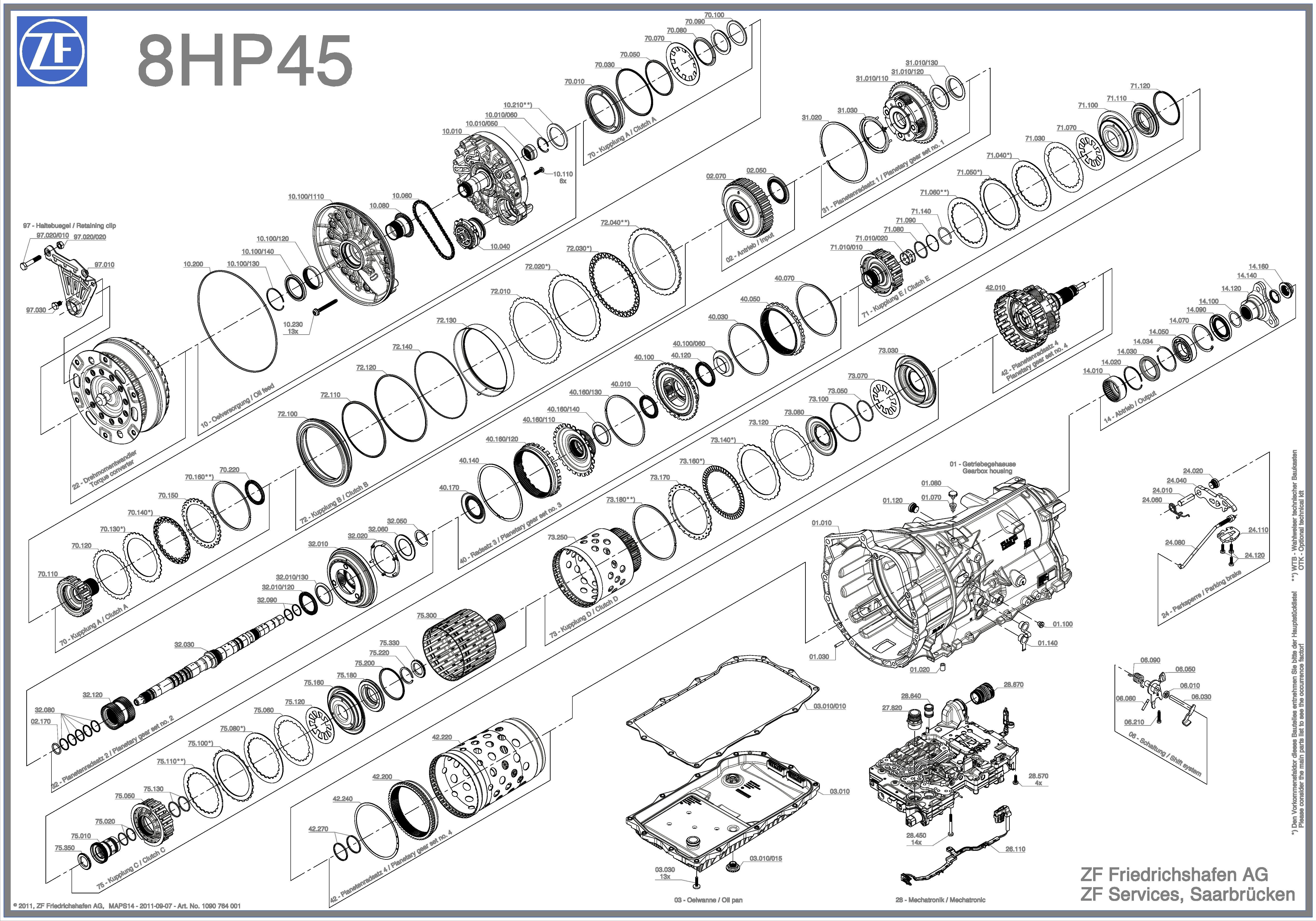zf8hp45  845re