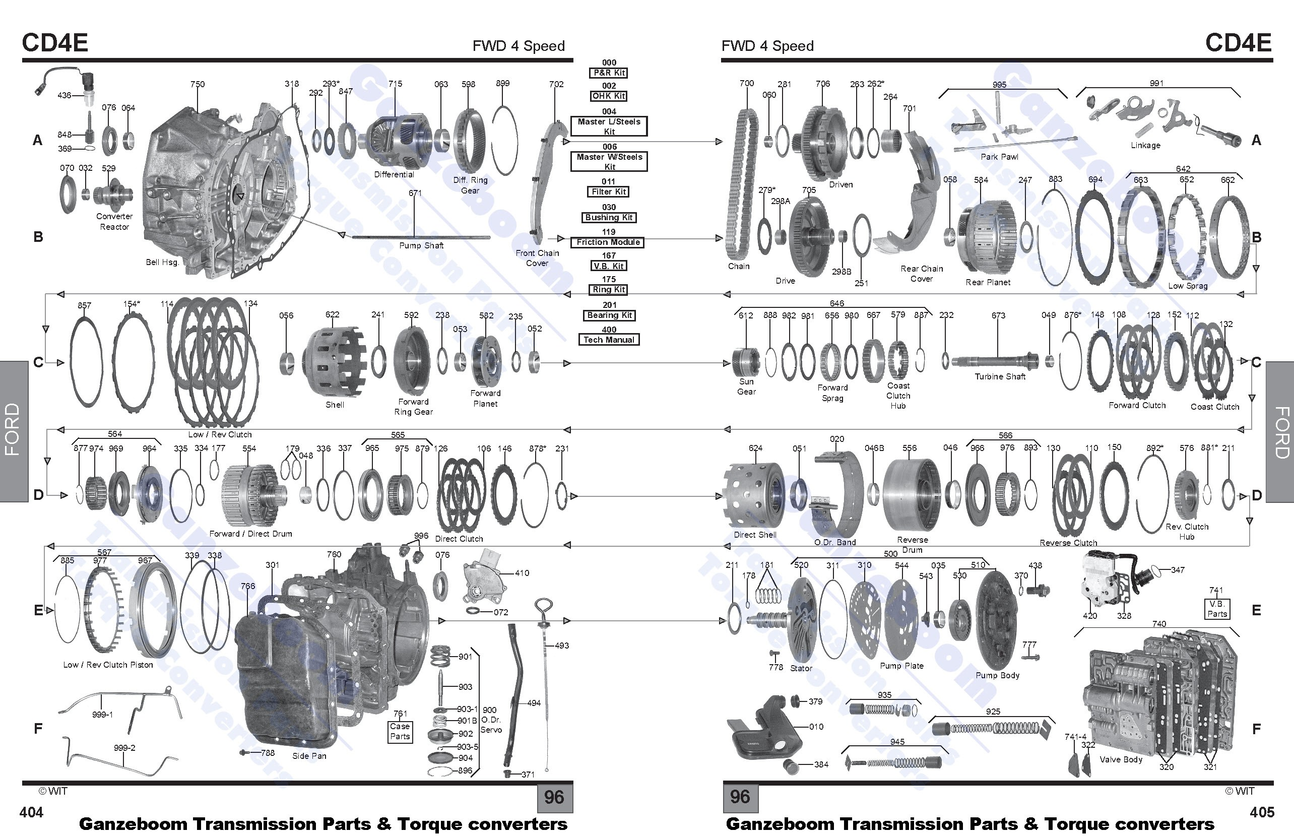 cd4e vw front suspension diagram