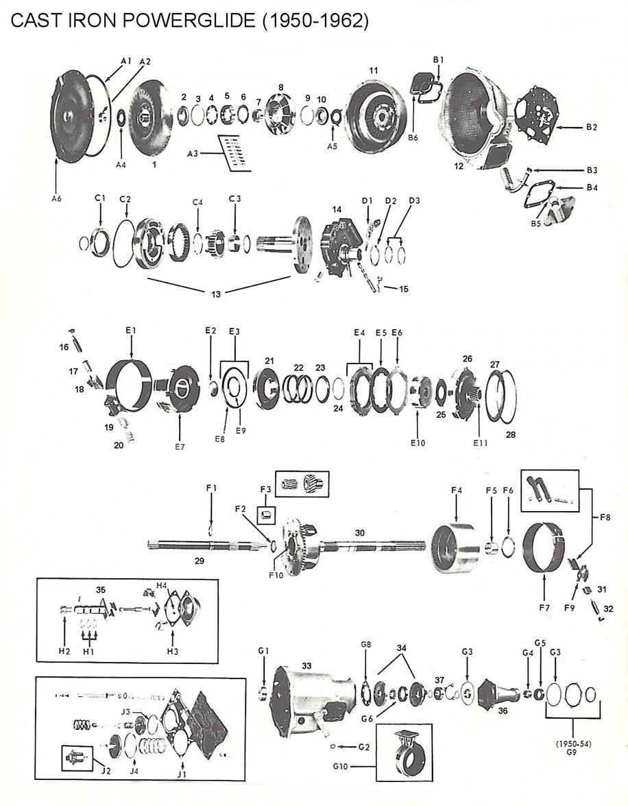 Cast Iron Powerglide  1950